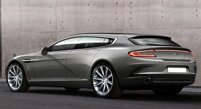 Aston Martin и Bertone построили эксклюзивный Rapide Jet 2+2