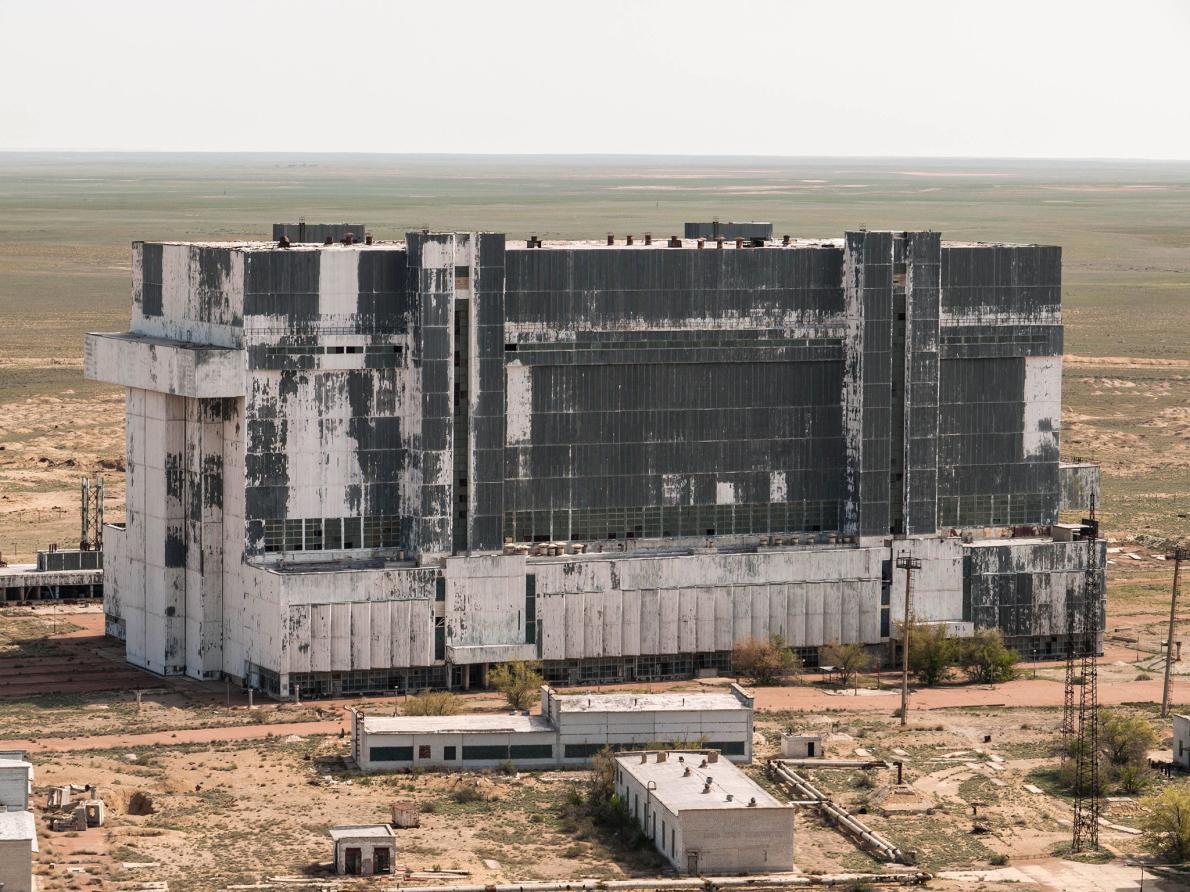 Забытые советские шаттлы в казахской степи