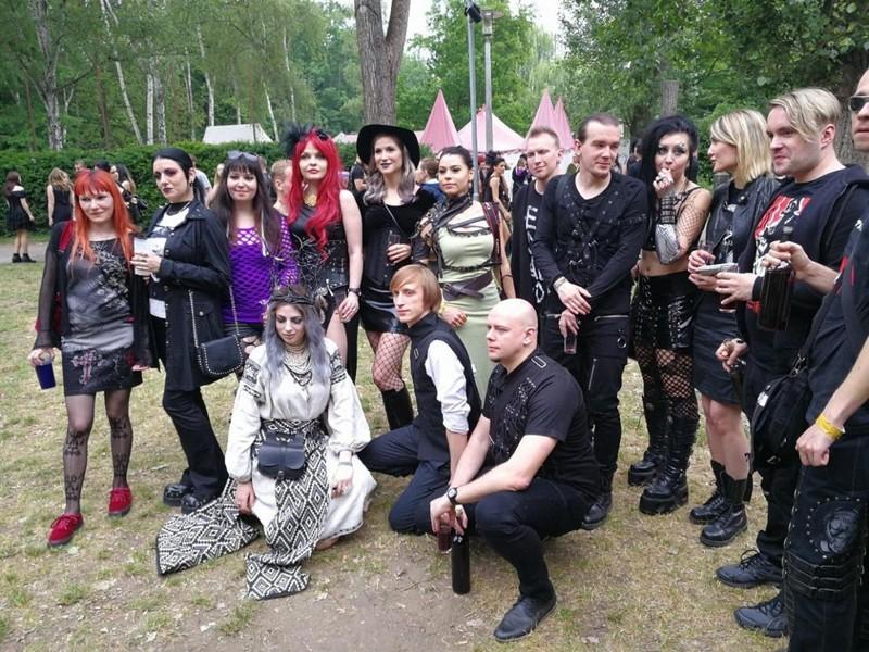 Готы собрались на ежегодную тусовку в Лейпциге