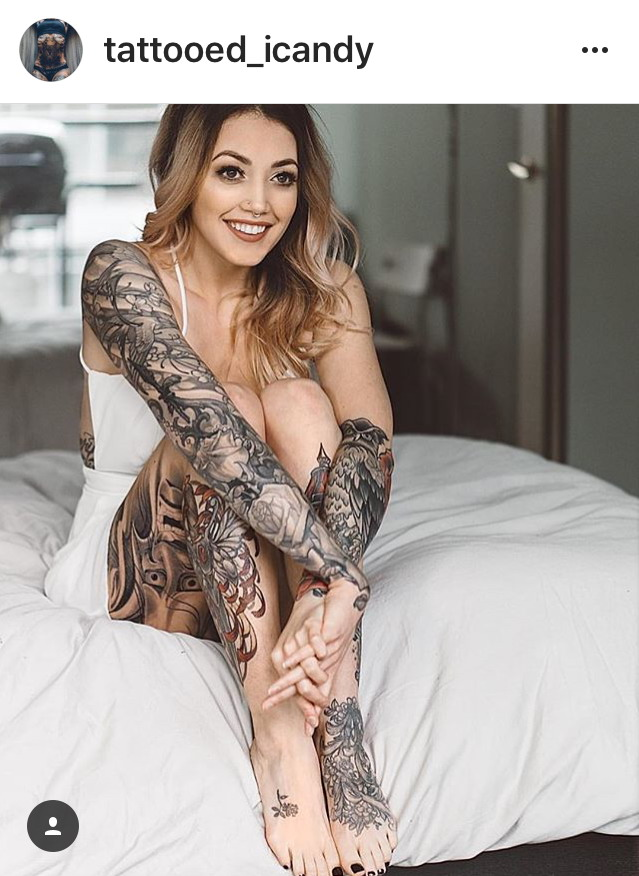 татуированные тёлки
