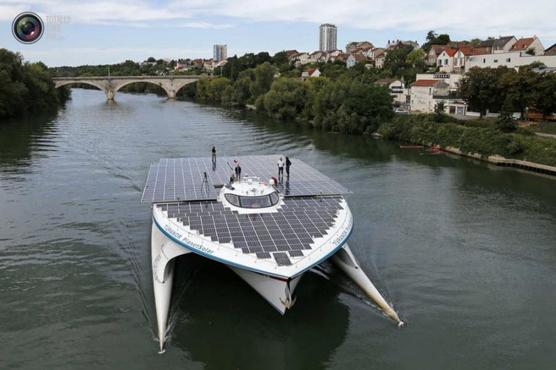 PlanetSolar: Самое большое в мире судно на солнечных батареях (17 фото)