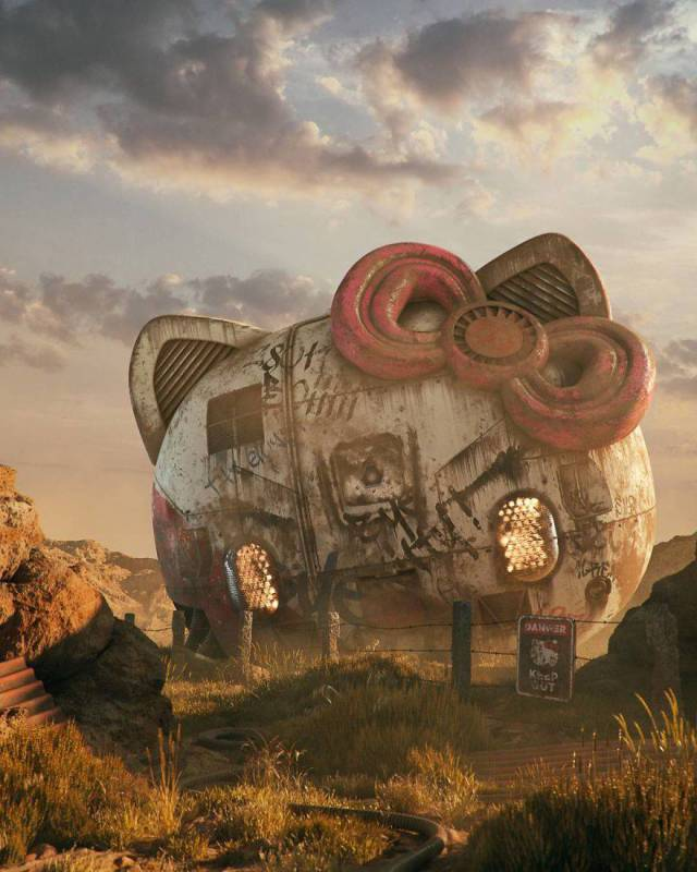 Сюрреализм Чешского художника Филипа Ходаса