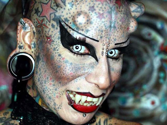 Maria Jose Cristerna вампир